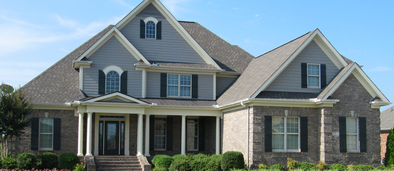 Bluestone custom home builder and custom home designs for Custom home builders in alabama